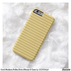 Cool Modern Polka Dots iPhone 6 Case