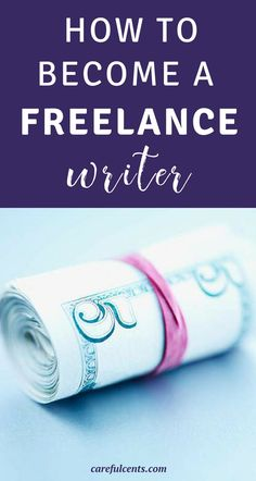 Want to be a paid freelance writer? Here's how to become a freelance writer. In just one month I was able to earn $4,000 and provide for my family while working from home. Get started freelancing in the next 30 days on the side of your day job. These freelance tips really work!