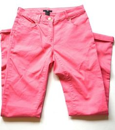 #H&M #SkinnyJeans #PINK #SIZE6 #NEW $10 #WORLDWIDESHIPPING #PINKDENIM #DENIM #PANTS #PINKPANTS