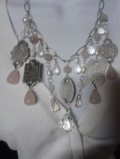 One of a kind vintage dog tag statement by GoodStufffff on Etsy, $50.00