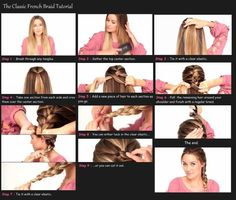 how to do french braid - Google Search