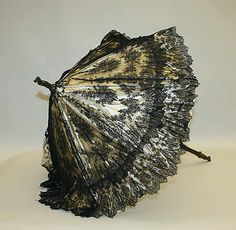 Parasol Date: 19th century Culture: American Medium: silk, shell Dimensions: [no dimensions available] Credit Line: Gift of Mr. and Mrs. Ernest G. Vietor, 1938 Accession Number: C.I.38.11.2