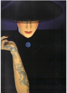 Serge Lutens for Shiseido from Elle Magazine 1993