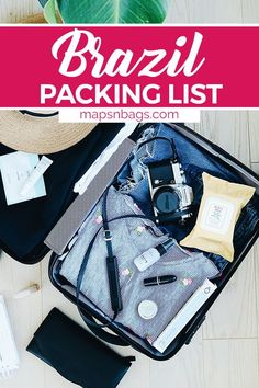 It's almost summer in Brazil! Are you going to miss it? Check out the ultimate packing list for Brazil that you can use on your next trip to Rio de Janeiro, Bahia, and more! Downloadable, printable packing list.   Rio de Janeiro packing list   what to pack for Brazil   what to wear in Brazil   Brazil packing list   summer packing list   south america packing list #SouthAmerica