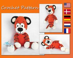Amigurumi Pattern Crochet Pattern Pdf Doll Stuffed Animal