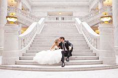 <3 there is actually a staircase to the wedding chapels at Caesars so I kind of want to do this lol. My photographer is gonna be all over the place… oops!
