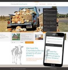 Farm Website Design, Ranch, Responsive