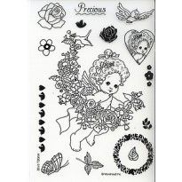 Clear stamps Moreheads Angel 0102
