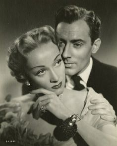 Marlene Dietrich and Michael Wilding