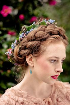 Braids & Flowers