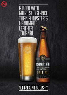 Garagista: Journal #ad #print beer