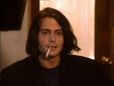 Image de johnny depp and smoking Johnny Depp Fans, Young Johnny Depp, Young And Beautiful, Beautiful Men, Jonh Deep, Smoking, Fluffy Hair, Don Juan, Cute Poses