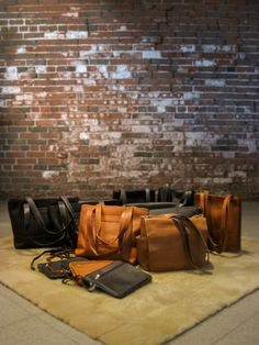 Just in from Colombia!  Naked Full-Grain leather Vaquetta bags. Urban Messenger Bag, Top Zip Tote, Open Market Bag, Tablet Case, in black, chocolate and saddle leathers.  Get them at @ http://www.disenobos.com/collections/personal-accessories