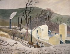 Eric Ravilious, Cement Works No.2, 1934