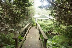 Bridge over creek/stream in backyard. I will have this. Our New Home - Lavin Label