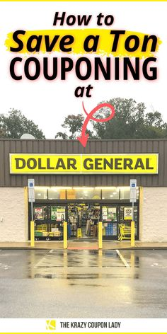 How To Start Couponing, Couponing For Beginners, Couponing 101, Dollar General Digital Coupons, Dollar General Couponing, Dollar General Penny Items, Dollar General Store, Coupon Queen, Coupon Lady