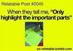 Haha yeaaah right b4 the exams