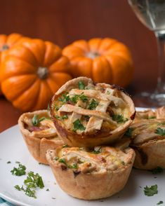 Mini Onion Bacon Pies | These Mini Onion Bacon Pies Are Totally In For Fall Cooking