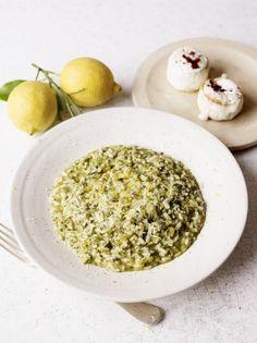 Sorrel Risotto | Rice Recipes | Jamie Oliver Recipes