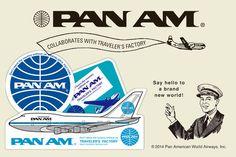 Pan Am - TRAVELER'S FACTORY | トラベラーズノートを中心としたステーショナリー・カスタマイズパーツ・オリジナルグッズ・雑貨の販売店
