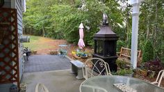 View from other side of the patio