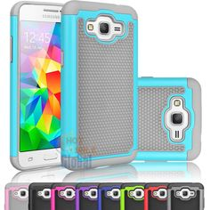 D= Gray or Red M= touq Impact Armor Protective Hybrid Case Cover For Samsung galaxy Grand Prime G530 #UnbrandedGeneric