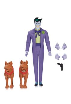 eXpertComics offers a wide choice of  products, like the Batman Animated  Series NBA - Joker Action Figure. Visit eXpertComics' website to discover thousands of collectibles.