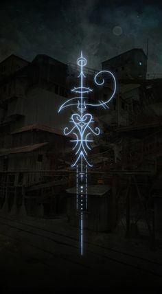 The Mystic Mire — A sigil to invoke the magic of liminal spaces. Sigil Magic, Magic Symbols, Ancient Symbols, Viking Symbols, Egyptian Symbols, Viking Runes, Tatoo Art, Body Art Tattoos, Tattoo Drawings