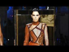 3abd57cd BALMAIN | Fall Winter 2017/18 | Womenswear | Full Fashion Show - YouTube