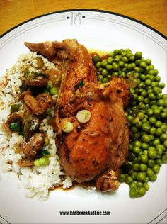 New Orleans Style Stewed Chicken - Red Beans and Eric Louisiana Recipes, Cajun Recipes, Southern Recipes, New Recipes, Chicken Recipes, Cooking Recipes, Favorite Recipes, Creole Recipes, Gumbo Recipes