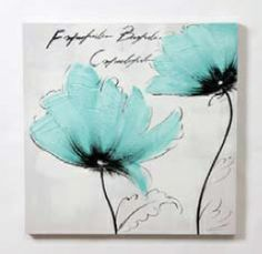 """Duo Blue Grn Poppies Paint 1911/16""""L x 13/16""""W x 1911/16""""H #9628007 $36.99 SOLD OUT www.lambertpaint.com"""