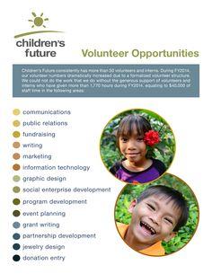 Flyer for local non-profit organization.