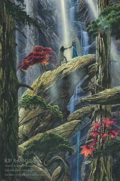 Beren and Luthien Plight Their Troth
