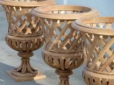 Vases | Accents of France - Treillage