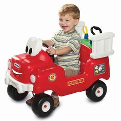 Little tikes - Spray & Rescue Fire Truck - Age 1.5 - 5 years