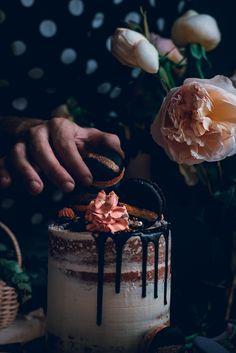 Cake recipe adapted from: Rose's heavenly cakes book by Rose Levy Beranbaum.  She loves me Cake – Vanilla bean cake 4 egg yolks 160 g Milk 1 tsp Vanilla bean paste or Extract 200…