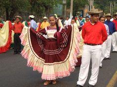 Street Festival ---El Salvador  beautiful dress