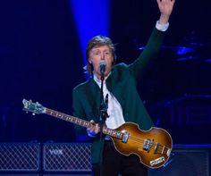 Paul McCartney performs at Joe Louis Arena on October 21, 2015 in Detroit, Michigan.