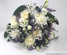 White Rose Hand Tied for Bride with just a hint of purple/blue. Wedding Flowers Liverpool, Merseyside, Bridal Florist, Booker Flowers and Gifts, Booker Weddings Vera Wang Wedding, Wedding Bride, Our Wedding, Bride Bouquets, Flower Bouquet Wedding, Bridesmaid Bouquets, Bridezilla, White Roses, Liverpool