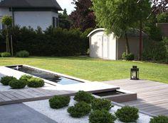 contemporary garden wall - Google Search