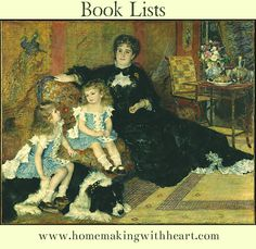 Book Lists - Categories: Boys, Girls, Read-Alouds, World Culture, Devotions and discipleship, parenting/HSing....