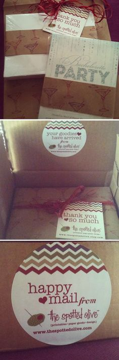 The Spotted Olive™ on #Etsy #packaging