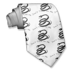 Shopping for customizable Dont Tread On Me ties is easy on Zazzle. Browse through our thousands of designs or design your own necktie. Black Neck, Dont Tread On Me, Design Your Own, Tie, Ties