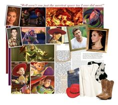 """""""Casting: Toy Story *Part 1*"""" by vintagevalentinecookie ❤ liked on Polyvore featuring Denim & Supply by Ralph Lauren, H&M, Dingo and Disney"""