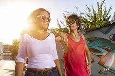 Dropers Sunglasses - Models:Andres y Maria dle Mar