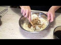 Orechový zákusok - recept na orechovo - kávový koláč s piškotami - VIDEO Ako sa to robí.sk
