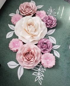 Large paper flowersgiant paper flowerspaper flowersfoam flowers i love when my clients say i trust you dont you feel the same mightylinksfo