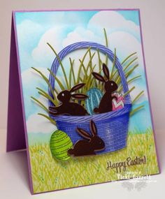 Happy Easter by summerthyme64 - Cards and Paper Crafts at Splitcoaststampers