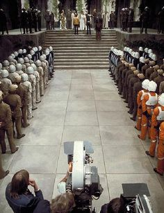 On the set of #StarWars A New Hope