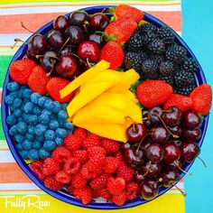 YUM!! i think all my fave fruits are represented here.  another delicious platter by fully raw kristina :)